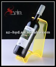 Simple And Smart Design Shoe Acrylic Wine Bottle Holder(NT-WH02)