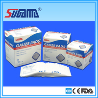 Free sample disposable medical x-ray gauze sponges with certificate