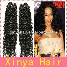 Malaysian Curly Hair 3.5oz/pcs top grade virgin weaving 100% human hair