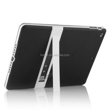 For ipad/ ipad air Colorful Ultra Thin Transparent Clear Stand PC Plastic Case Cover