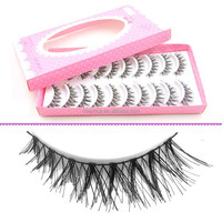10pairs one box pack false fake eyelashes