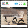 Beautiful cast iron garden furniture park bench/outdoor upholstered benches /Iron curved bench for gardens QX-145I