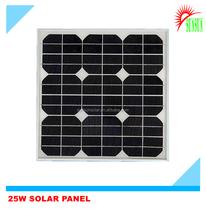 Best quality 25 watt 18 volt poly solar panel