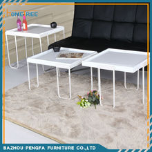 2015 Newest design used coffee shop table and chairs/coffee table fish tank