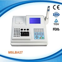 Large LCD Display and Four Channel Coagulation Machine Price MSLBA27D