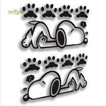 Cute Car Decal Snoopy Decoration Car Body Sticker Made In China Wholesale