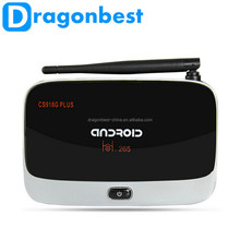 2015 Cheapest XBMC quad core android tv box with skype, CS918g plus pre-installed android tv box Amlogic S805 1G 8G 4K 1080p