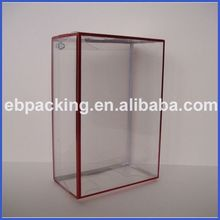 pvc clear plastic packaging box factory supply