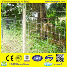 Factory price game fence /game wire fencing /high tensile knot fence roll