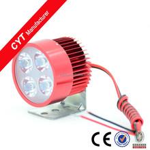 New 12W 12V 4 Led white High Power Lamps Led Headlight For Motorcycle Fog Lamp