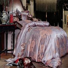 7pcs comforter Jacquard Bedding Set