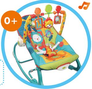 bebé silla de interior bouncer jumper función swing con juguetes del traqueteo del bebé no noxic material similar a fisher price