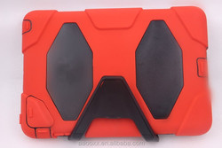 PA- 0595 new design damage proof red case for tablet PC ipad 2/3/4