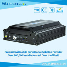 4CH HD Mobile DVR Streamax X1-N0400 with GPS, 3G/4G/WIFI Optional
