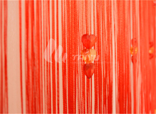 Indian style wedding wall string curtain design