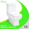 china supplier water saving sanitary ware ceramic two piece toilet ceramic toilet bathroom designs