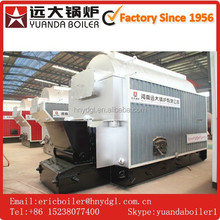 Coal burning Boiler Steam 1ton/hour exporter one drum for food factory
