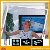 Removable window screen for mosquito protection window screen