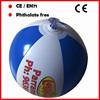 15CM mini custom beach balls with logo printed for kids