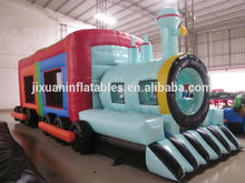 thomas the tren castillo hinchable