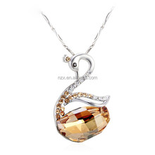 OUXI hot sale costume jewelry necklaces made with Swarovski Elements 10607