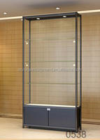 Glass vitrine glass display stand for sunglasses
