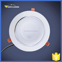 high quality ceiling led downlight 16w round cob recessed led down light with Samsung lighting chip