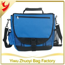 Adjustable/Detachable Shoulder Strap and High Tech Rubber Handle Messenger Bag with Many Pocket