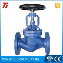 wcb/ss flange type casting steel globe valve (flange end) good quality