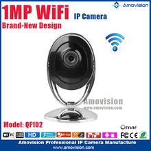 QF102 CMOS CCTV Camera Wifi Product 720P Metal Case
