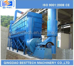 high temperature resistance heat treating furnace dust collector