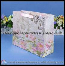 Large gift bag butterflies and flower design birthday gift bags