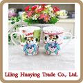 Pequeña orden taza de cerámica, logotipo personalizado de impresión, regalo taza para beber