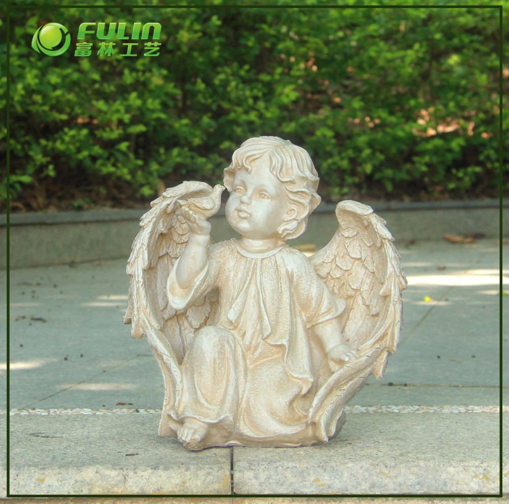 wholesale garden resin cherub statue buy cherub statue. Black Bedroom Furniture Sets. Home Design Ideas