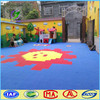 Vinyl outdoor PP interlocking sports floor for kindergarten