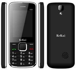 Multi-function Music Cell Phone 2.4 inch Spreadtrum 6531D Multi Language GSM 900/1800 Dual Sim k26 Mini Phone