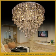 ZhongShan hot sale new design 15*3w Led crystal ceiling light with CE/ROHS chandelier
