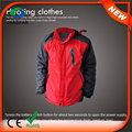 Abrigos / chaquetas de invierno venta caliente china 7.4V HJ08 de los hombres con calefacción