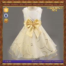 Puffy fiesta de cumpleaños vestido de princesa hermosa para niña