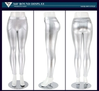 Best price gilrs office trousers silver gilding sexy fitness mature women wear