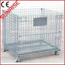 foldable galvanized steel cage industrial mesh cage