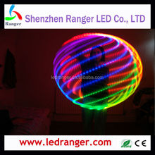 LED Hula Hoope remote control,160LEDs Remote-able Led Hula Hoops, led glow hula hoops