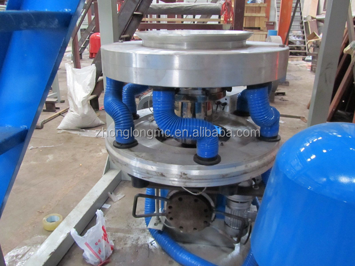 1200mm two layers co-extrusion PE plastic film blowing machine