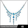 China Supplier Jewelry Wholesale Crystal Fashion Necklaces 2015 For Women