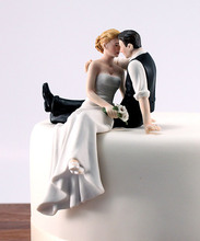 wedding cake topper the Look of Love Romantic Bride and Groom Couple Figurine