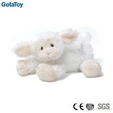 custom soft toy white lamb floppy soft style