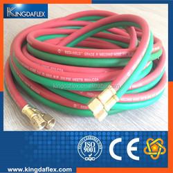Oxygen&Acetylene Hose/Flex Twin Welding Hose/Rubber and PVC Hybrid Hose