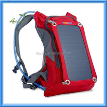 Solar Charger Backpack (7W) with 1.8L Hydration Pack and Ergonomic Carrying System by SunLabz