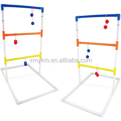 6 Pairs Golf/Plastic Ball/Ladder Golf Toss Game with Carry Bag, 6 Pairs Golf/Plastic Ball