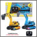 caminhão de controle remoto de brinquedo 4ch navvy rc com luzes